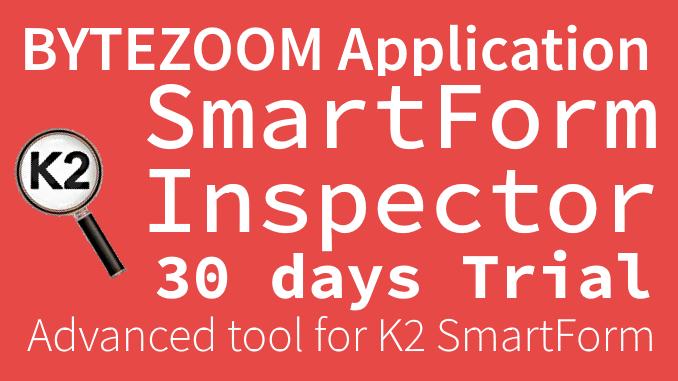 SmartForm Inspector Trial